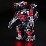 LIGHTAILING Light Set for (Marvel Avengers War Machine Buster) Building Blocks Model - Led Light kit Compatible with Lego 76124(NOT Included The Model)