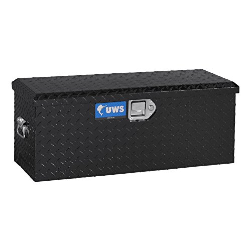 UWS ATV-BLK Black ATV Chest with End Pull Handles and Beveled Insulated (Insulated Atv)