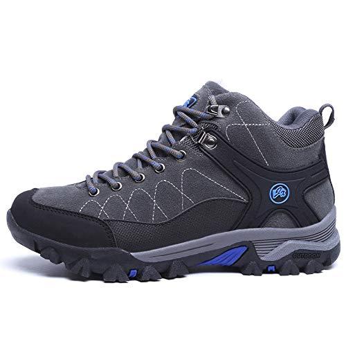 Impermeable Camping montaña Zapatillas Gris Libre de al cálido de Escalada Unisex Senderismo Aire otoño 7 con Invierno de Zapatos Hasag Trekking Deportes Botas t70wq1Hn