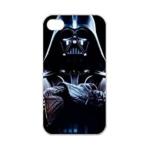 Creative LUCK iPhone 4,4S Case Coolest Darth Vader Star Wars iPhone 4,4S 100% TPU (Laser Technology)