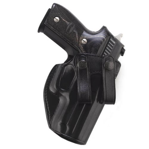 Galco Summer Comfort Inside Pant Holster for 1911 4-Inch, 4 1/4-Inch Colt, Kimber, para, Springfield, Smith (Black, Right-Hand) - Galco Paddle Holsters