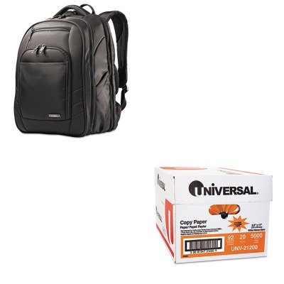KITSML492101041UNV21200 - Value Kit - Samsonite Cosco Xenon 2 Laptop Backpack (SML492101041) and Universal Copy Paper (UNV21200)