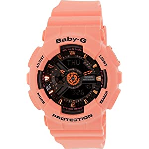 41KDB%2BxFqML. SS300  - Baby-G by Casio BA111-4A2Retail Price: $120
