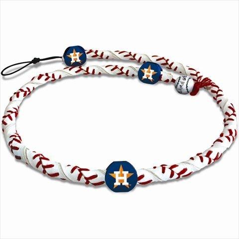 GameWear MLB Houston Astros CFR-MLB-HOA-1-C Houston Astros Classic Frozen Rope Baseball Necklace,One Size,