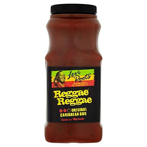 ( 1ltr Pack ) Levi Roots Reggae Reggae Original Caribbean BBQ Sauce and Marinade 1 Litre