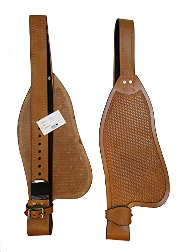Custom-Leather-Western-Horse-Saddle-Roping-Trail-Barrel-Fender-Replacement