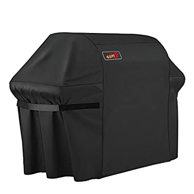VicTsing Gas Grill Cover Heavy Duty Fits Most Brands of Grill, 600D Waterproof BBQ Grill Cover + Storage Bag (UV & Dust & Water Resistant, Weather Resistant, Rip Resistant) from VicTsing