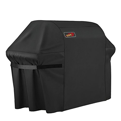 VicTsing Grill Cover, 60-Inch Waterproof BBQ Cover, Heavy Duty Gas Grill Cover for Brinkmann, Char Broil, Holland and Jenn ()