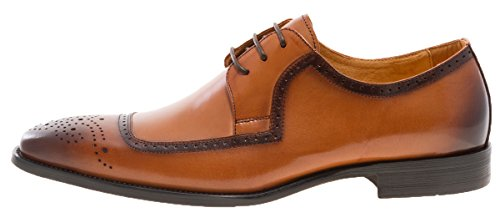 Sauter Newyork Hommes Harold Oxford Chaussure Tan