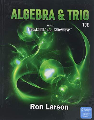 Algebra & Trigonometry, Loose-leaf Version