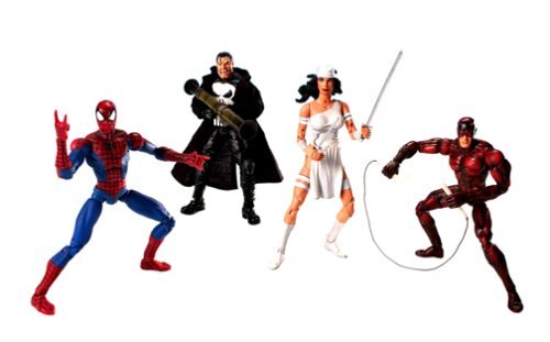Marvel Legends - Urban Legends Gift Box Set With Poster Book by Toy (Jackie In The Box Costume)