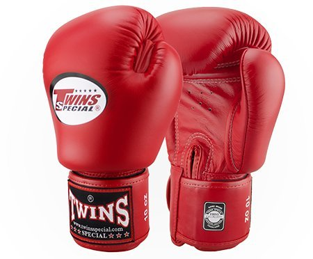 Twins Boxing Gloves (Red) - 1
