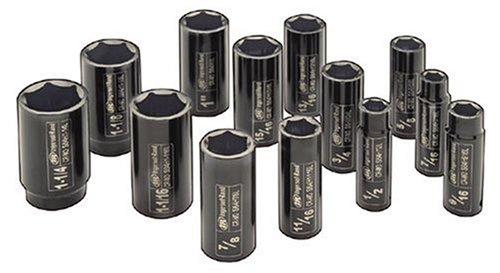 Ingersoll Rand SK4H13L 1/2-Inch Drive 13-Piece SAE Deep Impact Socket Set