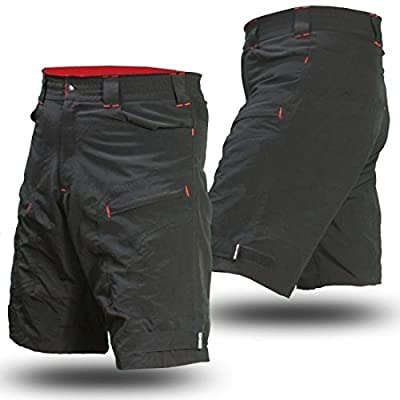Mountain Bike Cargo Shorts with secure pockets and dry-fast wicking