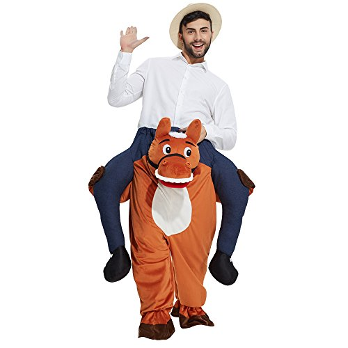 [YEDASI Piggyback Ride On Riding Shoulder Adult Costume Easter Mascot Pants (Hippo)] (Hippo Mascot Costumes)