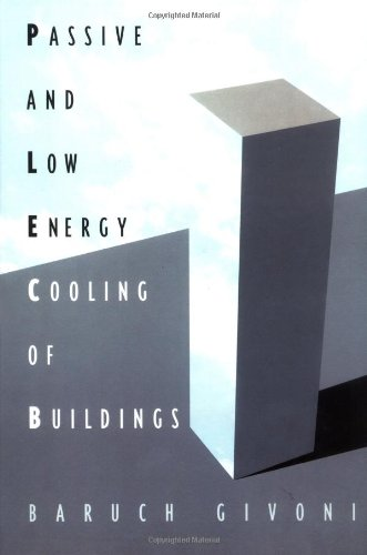 Passive Low Energy Cooling of Buildings by Brand: Wiley