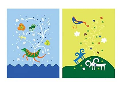 Amazon.com: Ikea Tvilling Children Room Wall Decor Poster Fantasy ...