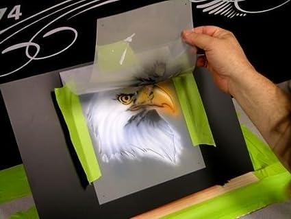 Buy Tiki 3-Face/God Airbrush Stencil Air Brush Template-Art