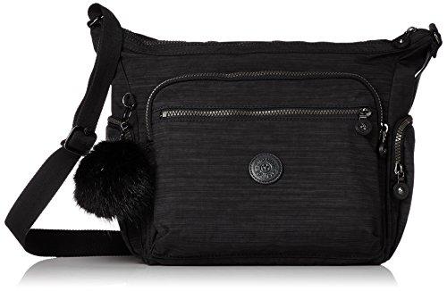 Kipling Women's Gabbie Cross-Body Bag Black (True Dazz Black)