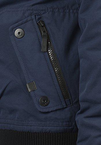 Veste Homme Navy Blouson Capuche Blend D'hiver Pour Marc À 70230 D'extérieur Uqn5pS4