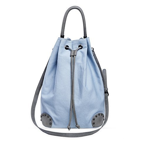 - Phoebe Luc Fashion Large Daily Tote Bag Cotton Canvas Drawstring Shoulder Hobo Bags