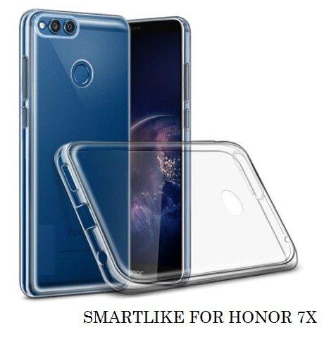SmartLike Hybrid Transparent Back Cover for Honor 7X