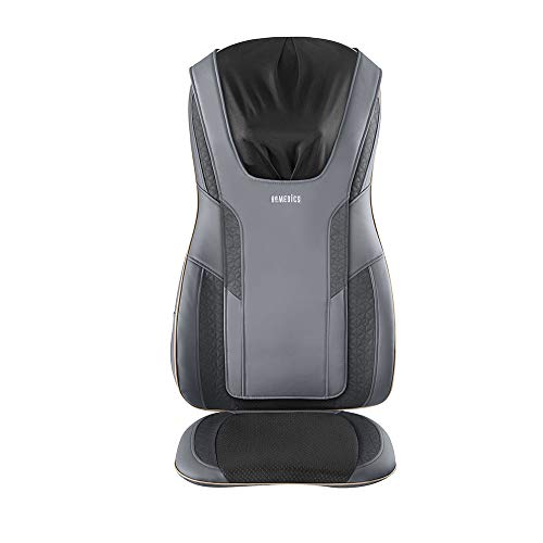 HoMedics Serenity Shiatsu Massage Cushion with Sound & Meditation 5 Massage Styles For Pain Relief, Targets Neck & Shoulders, Plus Soothing Heat   App Enabled