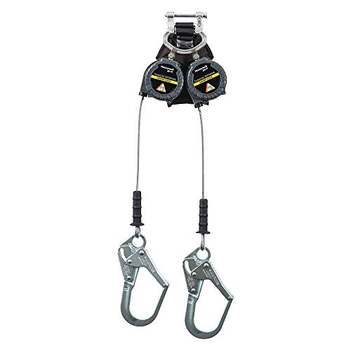 Leading Edge Self-Retracting Lifeline;9 ft, Max. Working Load: 420 lb, Line Material: Galvanized - Load Working Max