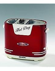 Ariete 186 Hot Dog Tillverkare, 650 W, 2 l, Röd