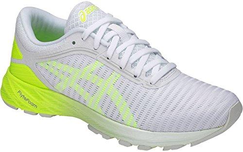 ASICS Dynaflyte 2 Women's Running 11 B(M) US White-Yellow-Blue