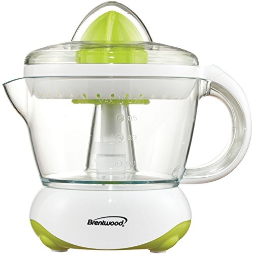Brentwood  J-15  24oz  Electric  Citrus  Juicer,  White by Brentwood