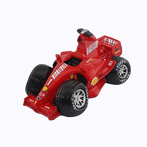 Sports Car Money Bank - Coin Bank Room Decor (Red Coin Bank Small Race Car)