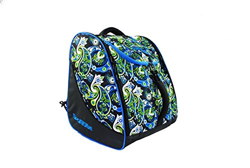 Sportube Free Rider Gear & Boot Bag, Paisley by Sportube