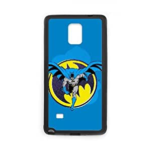 Batman Ready to Fight Samsung Galaxy Note 4 Cell Phone Case Black phone component AU_571070