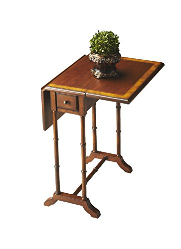 Price comparison product image Offex Transitional Rectangular Drop Leaf Table - Medium Brown