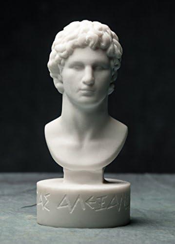 Leonidas Skulptur B/üste KING Spartan Antike Griechische Hero Artefakt