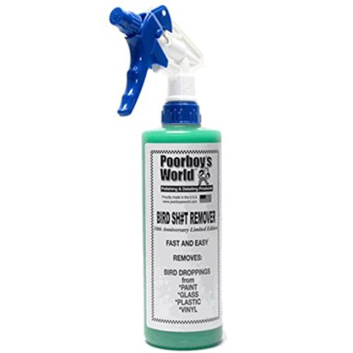 Poorboys Bird Dropping / Poo / Sh#t Remover *FOR CAR PAINT GLASS METAL PLASTIC*