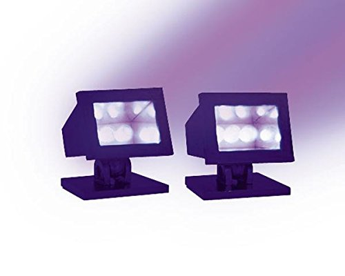 Quasar By Jesus Del Pozo Halloween LEMAX Spooky Town Collection Purple SPOT Lights 4.37