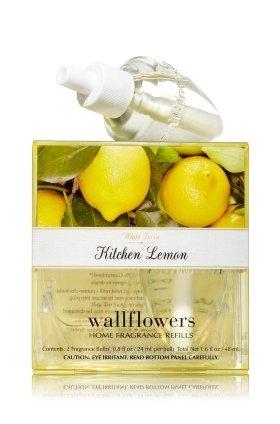 朝食を食べるうまくやる()モード【Bath&Body Works/バス&ボディワークス】 ルームフレグランス 詰替えリフィル(2個入り) キッチンレモン Wallflowers Home Fragrance 2-Pack Refills Kitchen Lemon [並行輸入品]