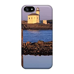 Dana Lindsey Mendez JWOFjcL7337jlaUO Case For Iphone 5/5s With Nice Coquille River Lighthouse Bon Oregon Appearance