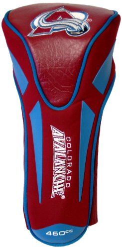 Team Golf NHL Colorado Avalanche Golf Club Single Apex Driver Headcover, Fits All Oversized Clubs, Truly Sleek Design ()