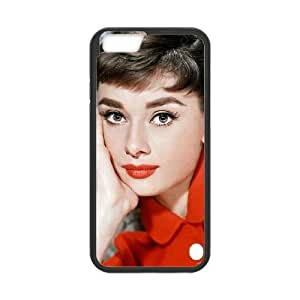 Audrey Hepburn iPhone 6 4.7 Inch Cell Phone Case Black 05Go-237077