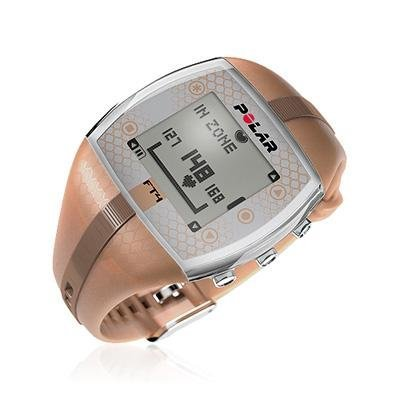 Polar FT4 Heart Rate Monitor Watch (Bronze/Bronze - Women)