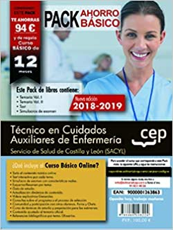 Pack basico tecnico en cuidados auxiliares de enfermeria sacyl: Amazon.es: Cep, Cep: Libros