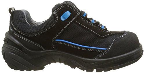 Abeba 4571-36 Crawler Chaussures de sécurité bas Taille 36 Noir/Bleu