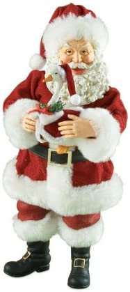 Department 56 Possible Dreams Christmas Goose Santa Figurine