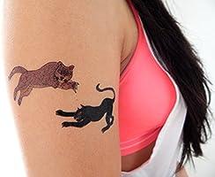 Tatuajes para gatos grandes de alta calidad: león, guepardo, tigre ...