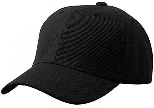 Unisex Adult Men Women Classic Plain Adjustable Velcro Sports Outdoor 6 Panel Hat Baseball Cap DF-2100 (Adult, - Velcro Letter