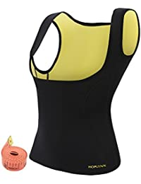 Neoprene Sauna Waist Trainer Corset Vest For Weight Loss, Hot Body Shaper Slimming Vest For Women