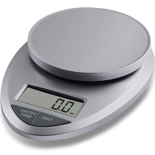 EatSmart ESKS-01  Precision Pro Digital Kitchen Scale, White